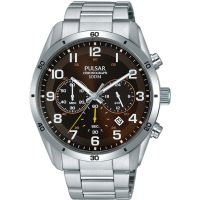 Mens Pulsar Chronograph Watch PT3843X1