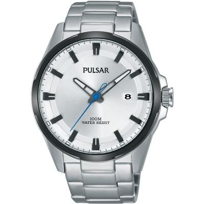 Pulsar Herrenuhr in Silber PS9511X1
