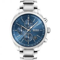 Hugo Boss Grand Prix Herenchronograaf Zilver 1513478