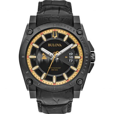 Bulova Precisionist GRAMMYs Limited Edition Herrenuhr in Schwarz 98B293