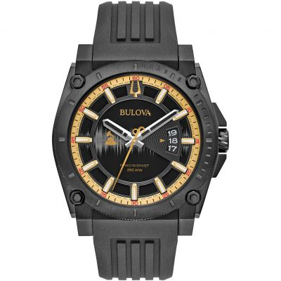 Bulova Precisionist GRAMMYs Limited Edition Herrenuhr in Schwarz 98B294