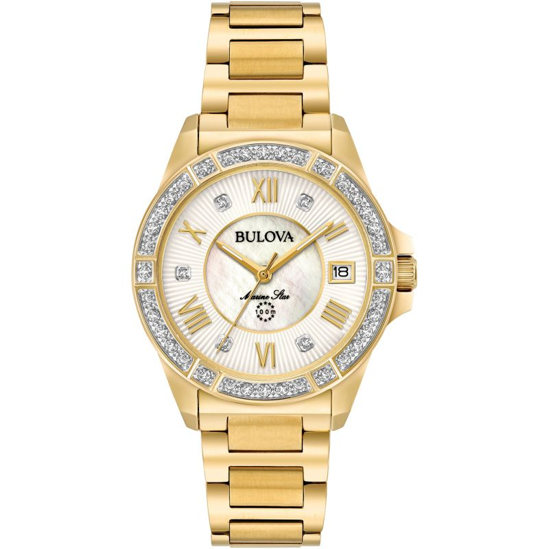 Ladies Bulova Marine Star Watch