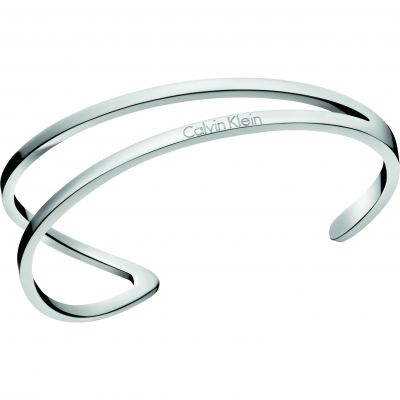 Ladies Calvin Klein Stainless Steel Small Outline Bangle KJ6VMF00010S