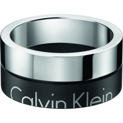 Mens Calvin Klein Stainless Steel Size R/S Boost Ring Size S KJ5RBR210109