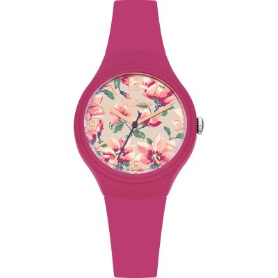 Ladies Cath Kidston Magnolia Dark Pink Watch CKL029P