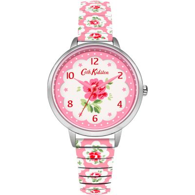 Ladies Cath Kidston Provence Rose Pink Expander Watch CKL030WP