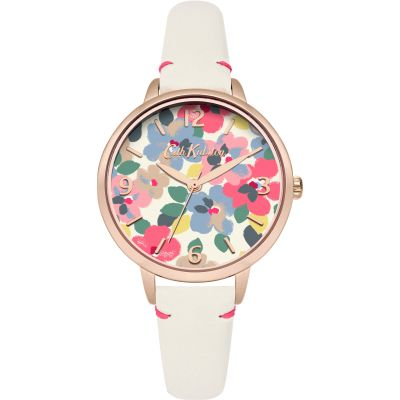 Ladies Cath Kidston Painted Pansies Watch CKL031W