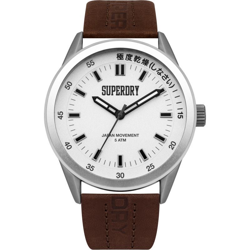 Mens Superdry Regent Corporal Watch SYG207TS