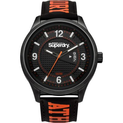 Superdry Yokohama Athletic Herenhorloge Zwart SYG171BO