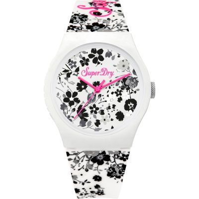 Ladies Superdry Urban Ditsy Watch SYL177WB