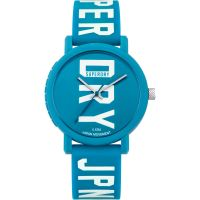 Ladies Superdry Campus Fluro Block Watch