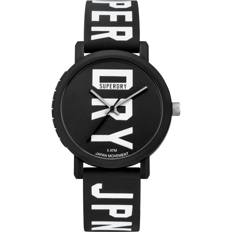 Mens Superdry Campus Fluro Block Watch SYG196BBW