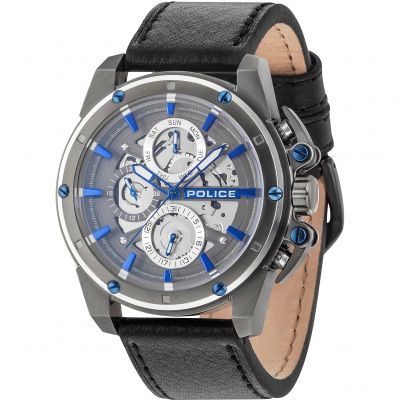 Police Splinter Herrenuhr in Schwarz 14688JSUS/13