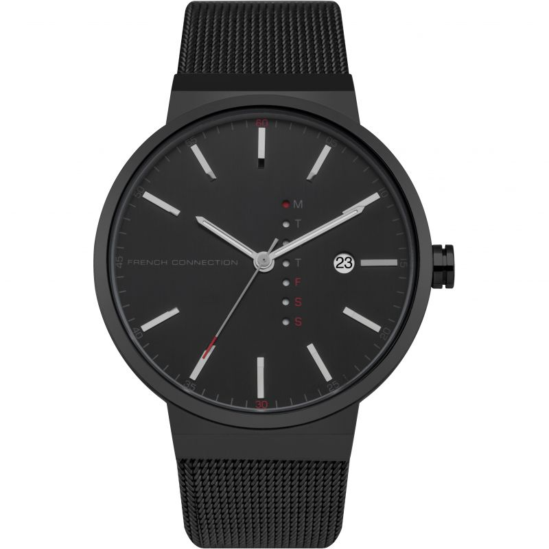 Mens French Connection Watch FC1283BBM