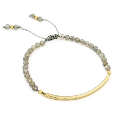Ladies Lola Rose Gold Plated Bishops Road Labradorite Bracelet 610988