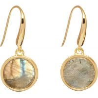 Lola Rose Dam Garbo Labradorite Earrings Guldpläterad 612197