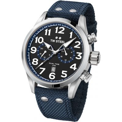Mens TW Steel Volante 45mm Watch VS37