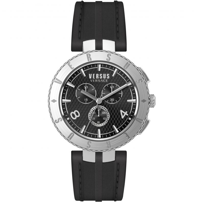Mens Versus Versace Logo Chrono Chronograph Watch