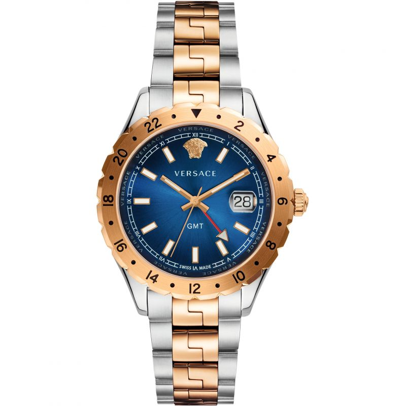 Unisex Versace Hellenyium GMT Watch