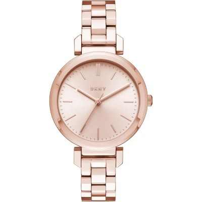 DKNY Ellington Dameshorloge Rose NY2584