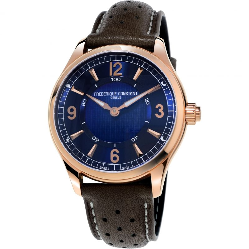 Mens Frederique Constant Exclusive Horological Smartwatch Bluetooth Watch FC-282AN5B4
