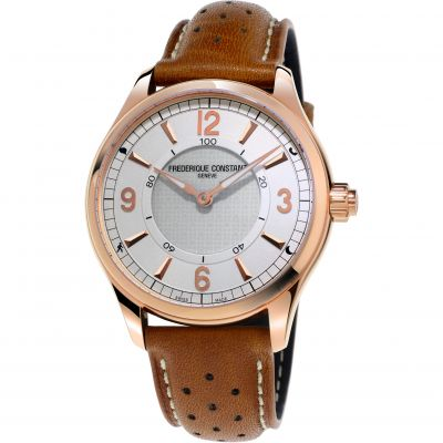 Mens Frederique Constant Horological Smartwatch Bluetooth Watch FC-282AS5B4