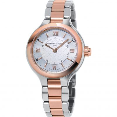 Orologio da Donna Frederique Constant Horological Smartwatch Bluetooth FC-281WH3ER2B