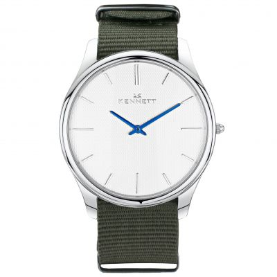Mens Kennett Kensington Watch KSILWHKHGRNNATO