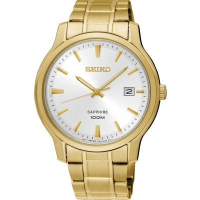 Seiko Dress Herenhorloge Goud SGEH70P1