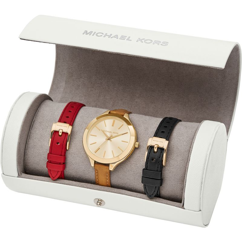 Uhren | Chrono12 Michael Kors MK2606 Slim Runway Uhren Set