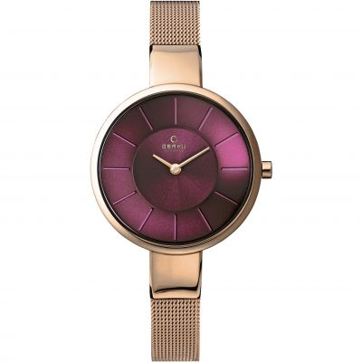 Ladies Obaku Sol Watch V149LXVQMV