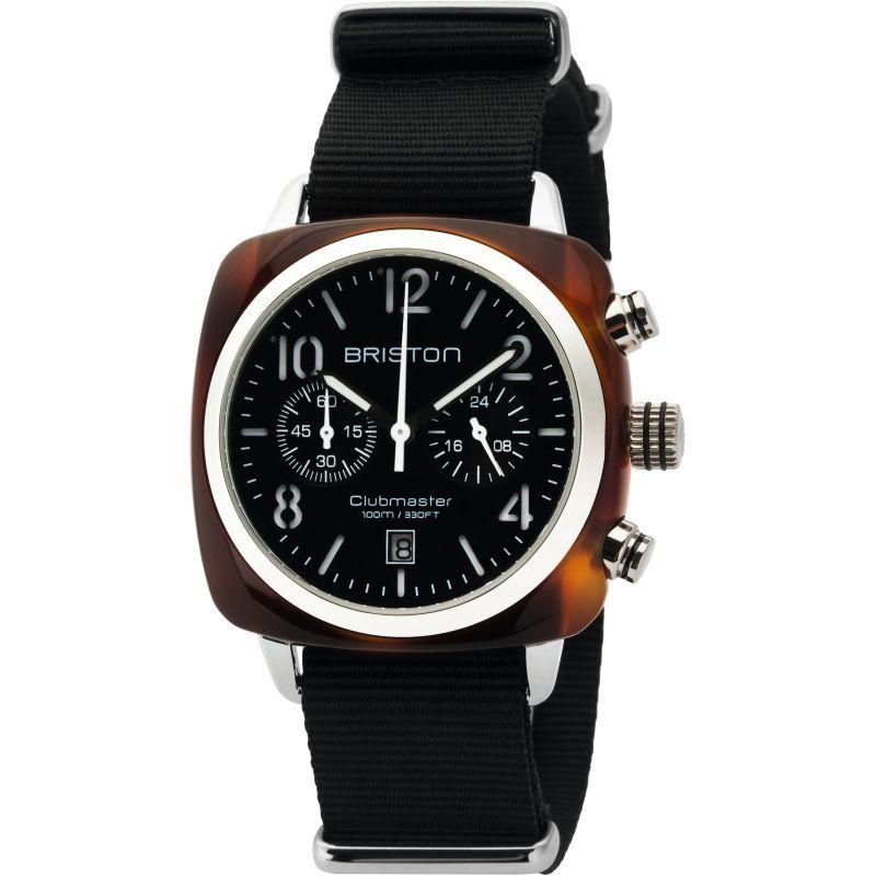 Unisex Briston Clubmaster Classic Acetate Chronograph Watch