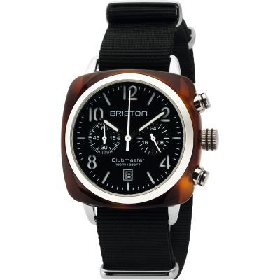 Unisex Briston Clubmaster Classic Acetate Chronograph Watch 16140.SA.T.1.NB
