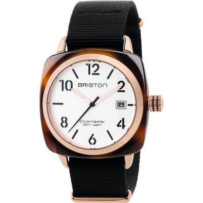Unisex Briston Clubmaster Classic Acetate Watch 17240.PRA.T.2.NB