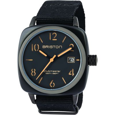 Mens Briston Clubmaster Classic Acetate Watch 14240.PBAM.B.4.NB