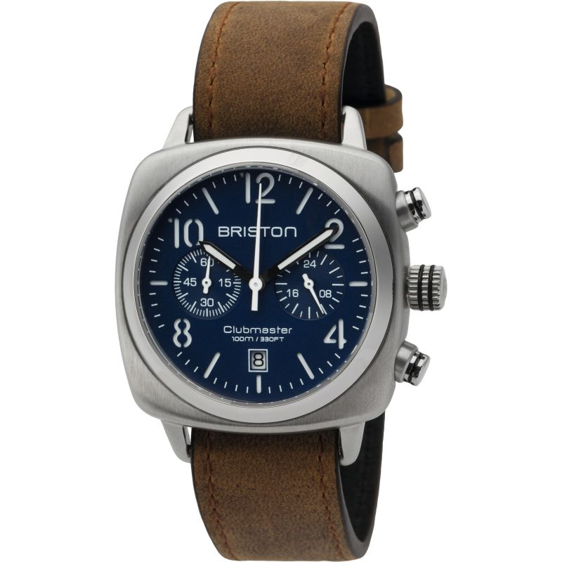 Unisex Briston Clubmaster Classic Steel Chronograph Watch