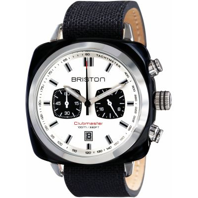 Unisex Briston Clubmaster Sport Acetate Chronograph Watch 15142.SA.BS.2.LSB