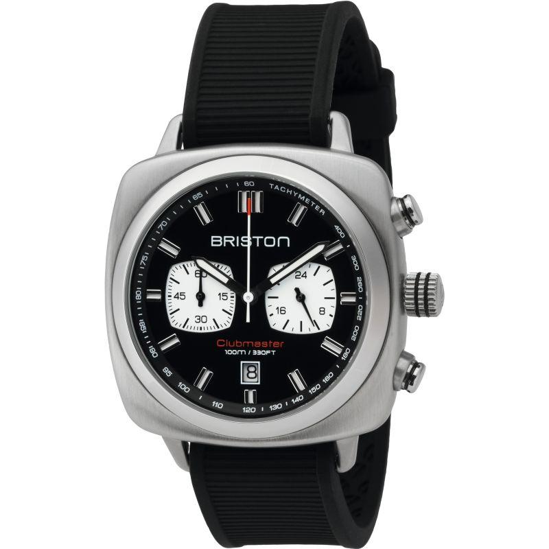 Unisex Briston Clubmaster Sport Steel Chronograph Watch