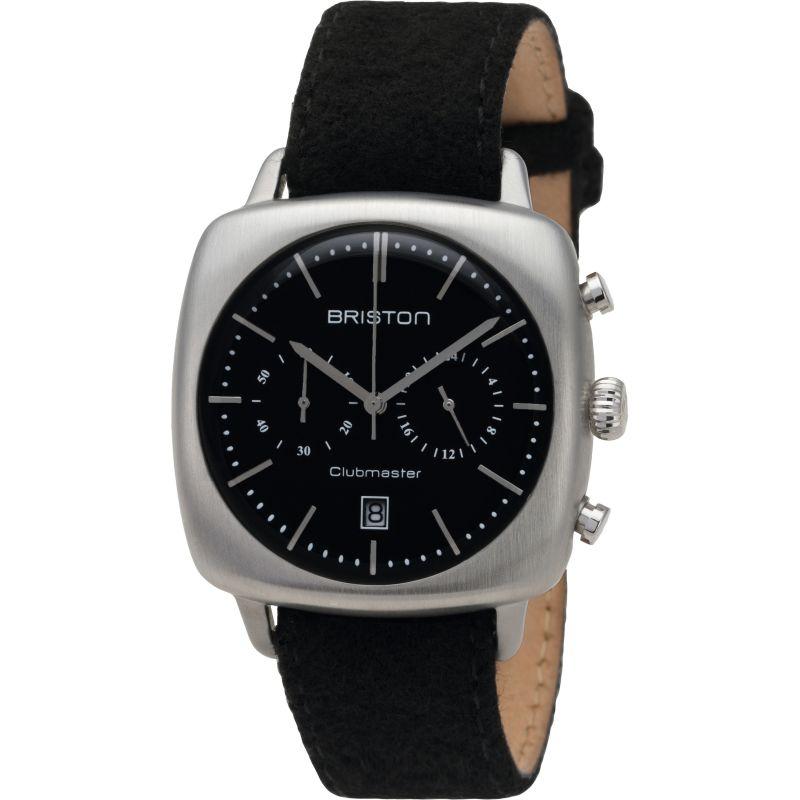 Unisex Briston Clubmaster Vintage Steel Chronograph Watch