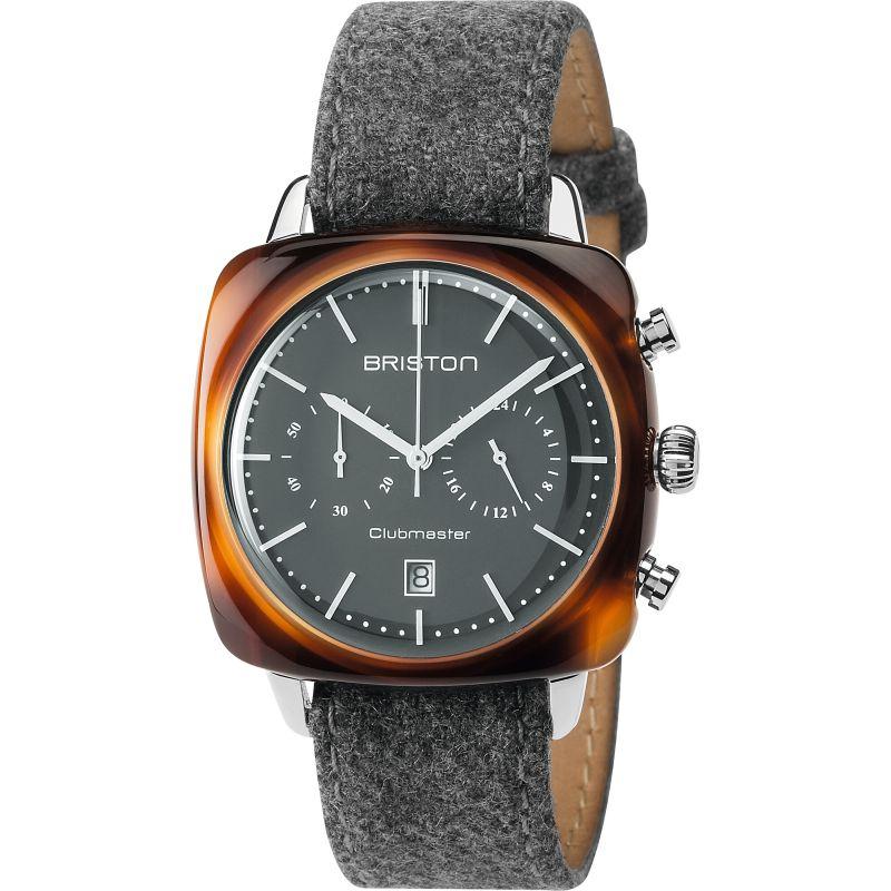 Unisex Briston Clubmaster Vintage Acetate Chronograph Watch