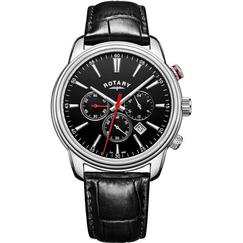Mens Rotary Monaco Chronograph Watch