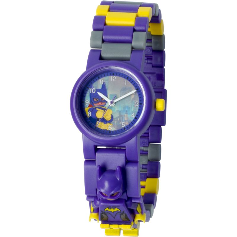 Childrens LEGO Batman Movie Batgirl minifigure link Watch 8020844