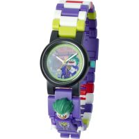 Childrens LEGO Batman Movie The Joker minifigure link Watch 8020851