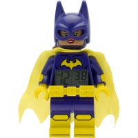 Childrens LEGO Batman Movie Batgirl minifigure clock Alarm Watch 9009334