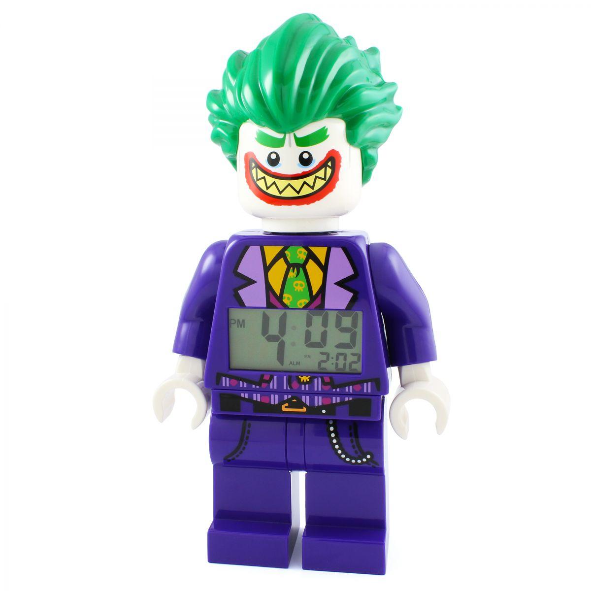 Childrens LEGO Batman Movie The Joker minifigure clock Alarm Watch (9009341)   WatchShop.com™  sc 1 st  Watch Shop & Childrens LEGO Batman Movie The Joker minifigure clock Alarm Watch ...