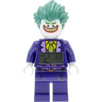 Childrens LEGO Batman Movie The Joker minifigure clock Alarm Watch 9009341