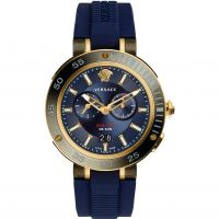 Mens Versace V-Extreme Pro Dual Time Watch