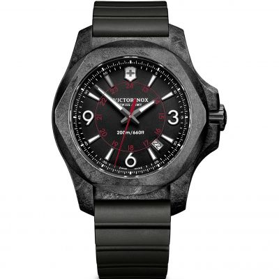 Victorinox Swiss Army INOX INOX Carbon Herrenuhr in Schwarz 241777