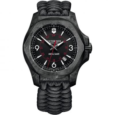 Mens Victorinox Swiss Army INOX Carbon Paracord Watch 241776