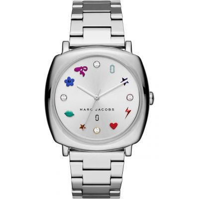 Marc Jacobs Mandy Damklocka Silver MJ3548